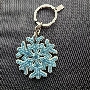 Coach Snowflake ❄  Keychain